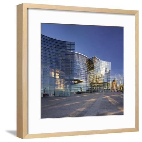 Christchurch Art Gallery, Christchurch, Canterbury, South Island, New Zealand-Rainer Mirau-Framed Art Print