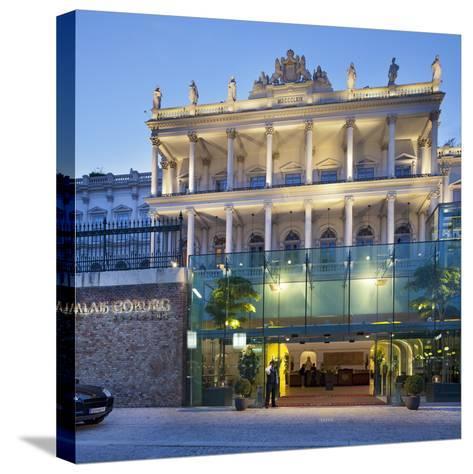 Austria, Vienna, Palace of Coburg, 1st District-Rainer Mirau-Stretched Canvas Print