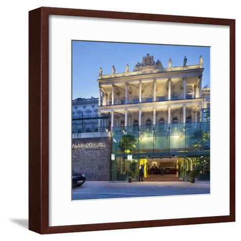 Austria, Vienna, Palace of Coburg, 1st District-Rainer Mirau-Framed Art Print