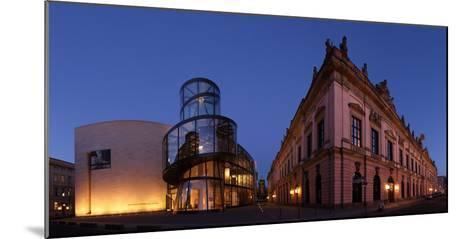 Berlin, Unter Den Linden, Zeughaus (Arsenal), German Historical Museum, Pei-Bau, Panorama, Evening-Catharina Lux-Mounted Photographic Print