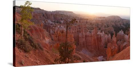 Panorama, USA, Bryce Canyon National Park, Amphitheatre-Catharina Lux-Stretched Canvas Print