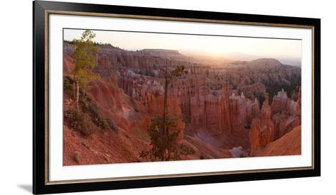 Panorama, USA, Bryce Canyon National Park, Amphitheatre-Catharina Lux-Framed Art Print