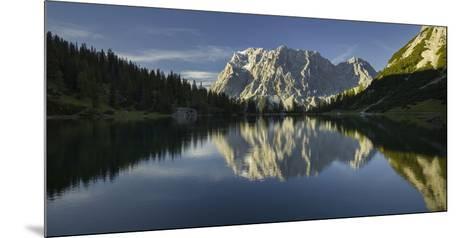 Zugspitze, Seebensee, Miemingen Mountains, Tyrol, Austria-Rainer Mirau-Mounted Photographic Print