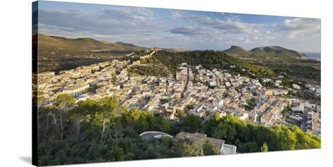 City View of Capdepera, Majorca, Spain-Rainer Mirau-Stretched Canvas Print