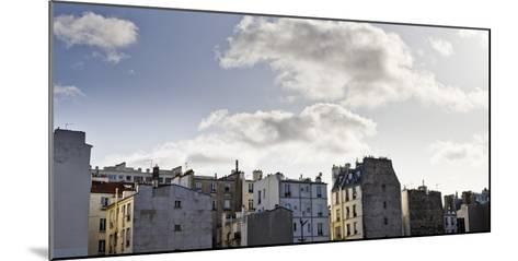 France, Paris, Skyline, 19th Area-Dietmar Walser-Mounted Photographic Print