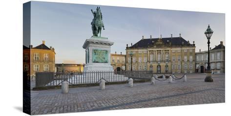 Amalienborg Palace, Copenhagen, Denmark-Rainer Mirau-Stretched Canvas Print