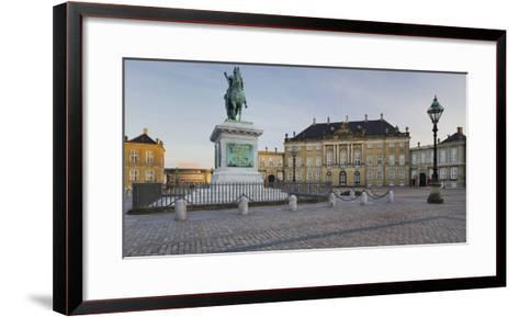 Amalienborg Palace, Copenhagen, Denmark-Rainer Mirau-Framed Art Print