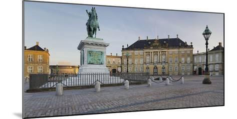 Amalienborg Palace, Copenhagen, Denmark-Rainer Mirau-Mounted Photographic Print