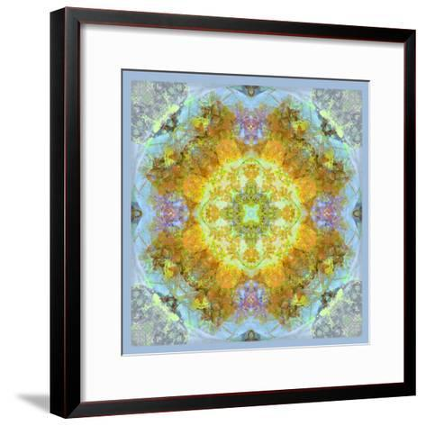 Symmetrical Ornaments, Mandala, Colourful-Alaya Gadeh-Framed Art Print