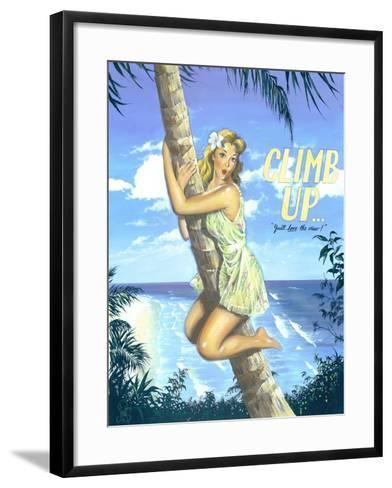 Climb Up-Scott Westmoreland-Framed Art Print