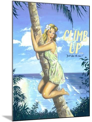 Climb Up-Scott Westmoreland-Mounted Art Print