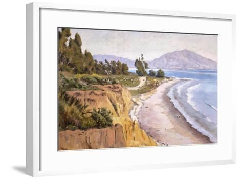 Channel Drive Montecito-Ludmilla Welch-Framed Art Print