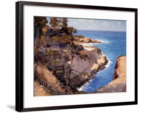 La Jolla-Alfred Mitchell-Framed Art Print