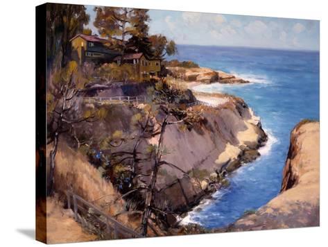 La Jolla-Alfred Mitchell-Stretched Canvas Print