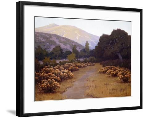 The Last Rays-John Gamble-Framed Art Print