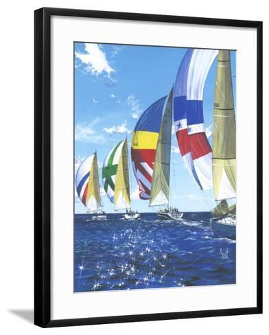 Diamont Regata-Scott Westmoreland-Framed Art Print