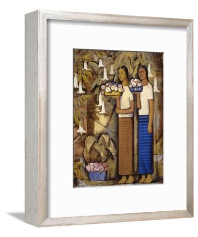 Flower Vendors-Alfredo Ramos Martinez-Framed Art Print