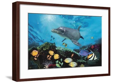 Shimmer Bay-Scott Westmoreland-Framed Art Print
