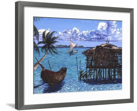 Caribbean Dreams-Scott Westmoreland-Framed Art Print