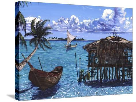 Caribbean Dreams-Scott Westmoreland-Stretched Canvas Print