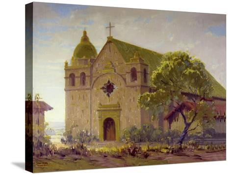 Carmel Mission-Sam Hyde Harris-Stretched Canvas Print