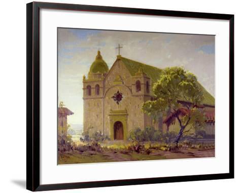 Carmel Mission-Sam Hyde Harris-Framed Art Print