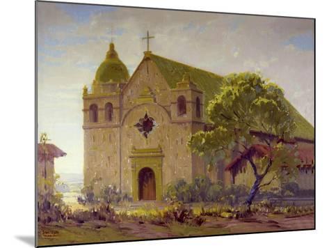 Carmel Mission-Sam Hyde Harris-Mounted Art Print