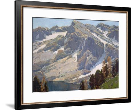 Sierra Divide-Edgar Payne-Framed Art Print