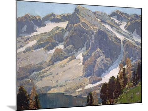 Sierra Divide-Edgar Payne-Mounted Art Print