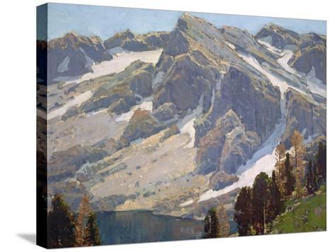 Sierra Divide-Edgar Payne-Stretched Canvas Print