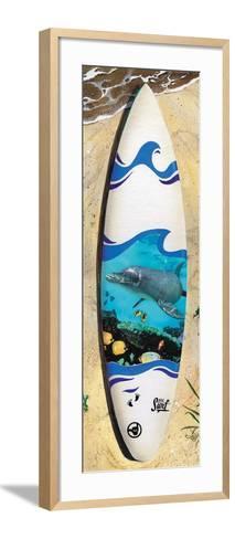 Dolphin Board-Scott Westmoreland-Framed Art Print