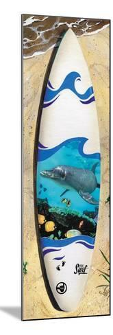 Dolphin Board-Scott Westmoreland-Mounted Art Print