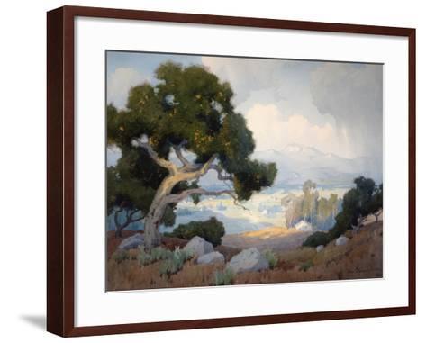 The Shower-Marion Kavanagh Wachtel-Framed Art Print