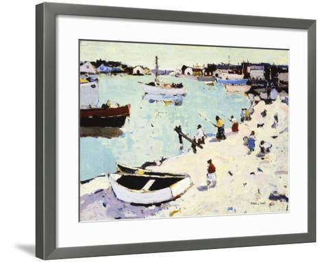 Newport Harbor-Thomas Hunt-Framed Art Print