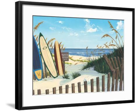 Beach Access-Scott Westmoreland-Framed Art Print