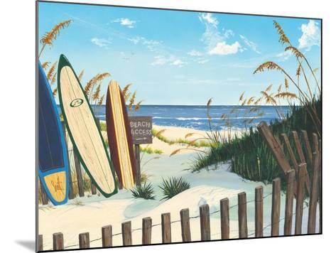 Beach Access-Scott Westmoreland-Mounted Art Print