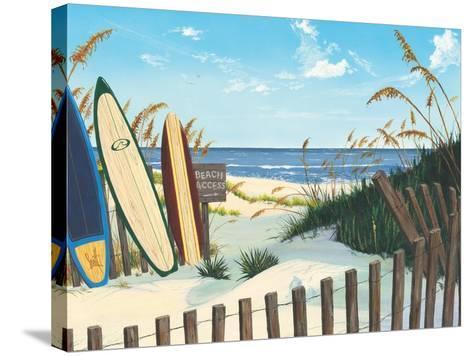Beach Access-Scott Westmoreland-Stretched Canvas Print