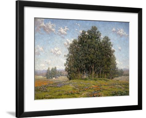 Wildflowers and Eucalyptus-Granville Redmond-Framed Art Print