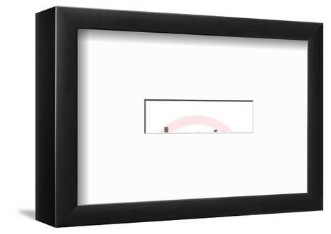 Type-Pop Ink - CSA Images-Framed Art Print
