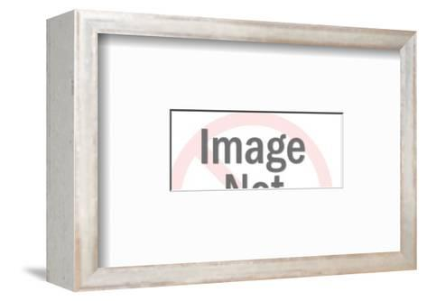 Pointing Hand-Pop Ink - CSA Images-Framed Art Print