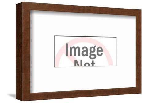 American Eagle Symbol-Pop Ink - CSA Images-Framed Art Print