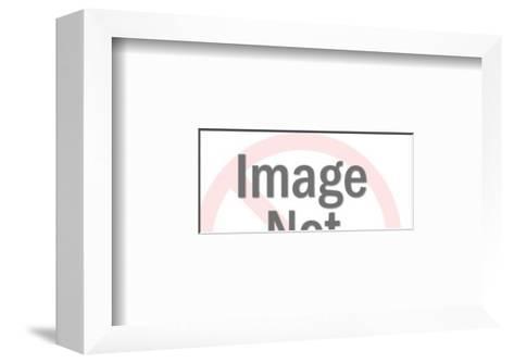 Frozen-Pop Ink - CSA Images-Framed Art Print