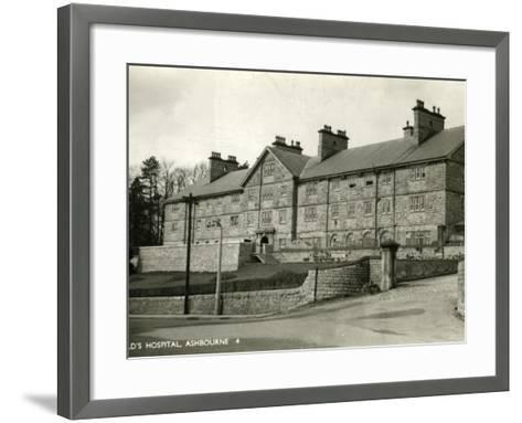 St Oswald's Hospital, Ashbourne, Derbyshire-Peter Higginbotham-Framed Art Print
