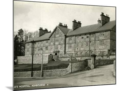 St Oswald's Hospital, Ashbourne, Derbyshire-Peter Higginbotham-Mounted Photographic Print