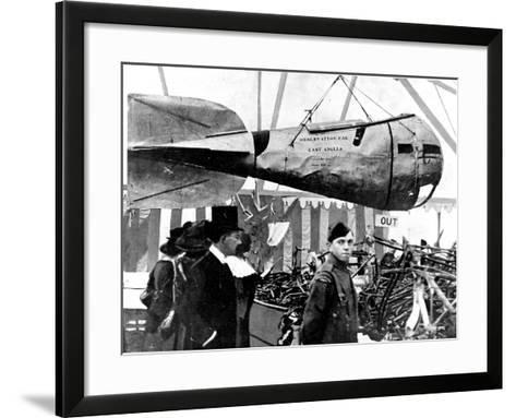 A German Zeppelin's Observation Car--Framed Art Print