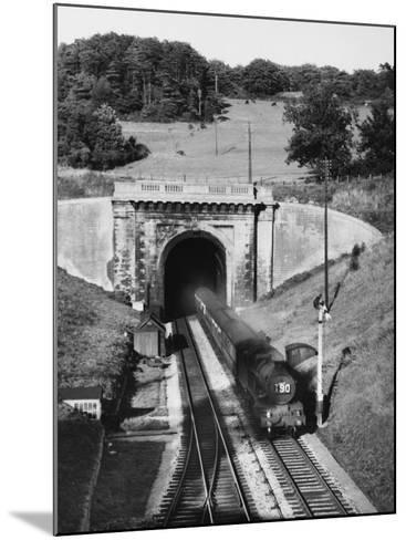 Box Tunnel, Wilts--Mounted Photographic Print