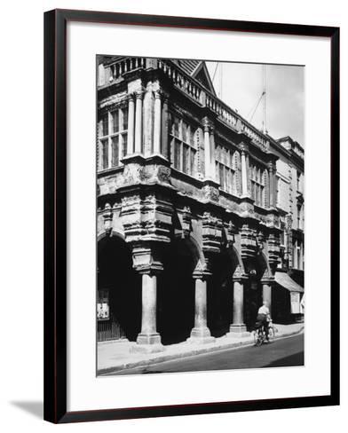 Exeter Guildhall--Framed Art Print