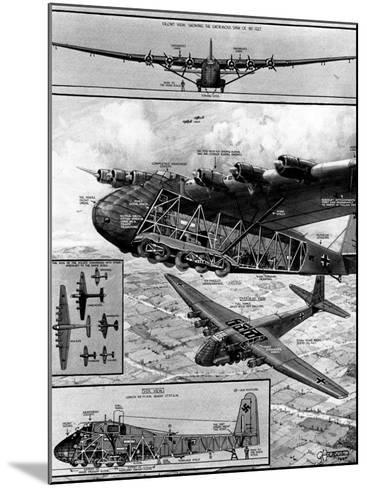 Me.323 'Gigant' Transport Glider; Second World War, 1944--Mounted Photographic Print