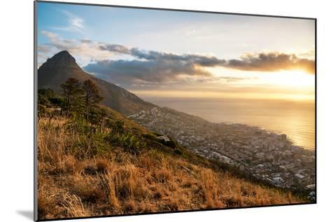 Awesome South Africa Collection - Sunset Cape Town-Philippe Hugonnard-Mounted Photographic Print
