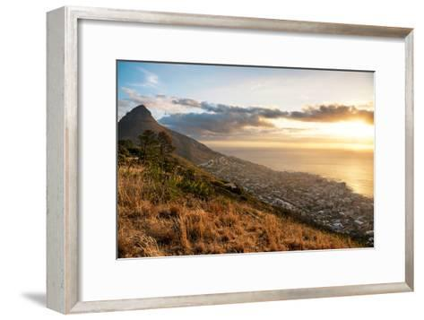 Awesome South Africa Collection - Sunset Cape Town-Philippe Hugonnard-Framed Art Print